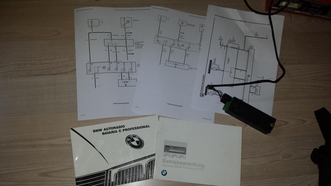 Charmant E36 Schaltpläne Zeitgenössisch - Schaltplan Serie Circuit ...