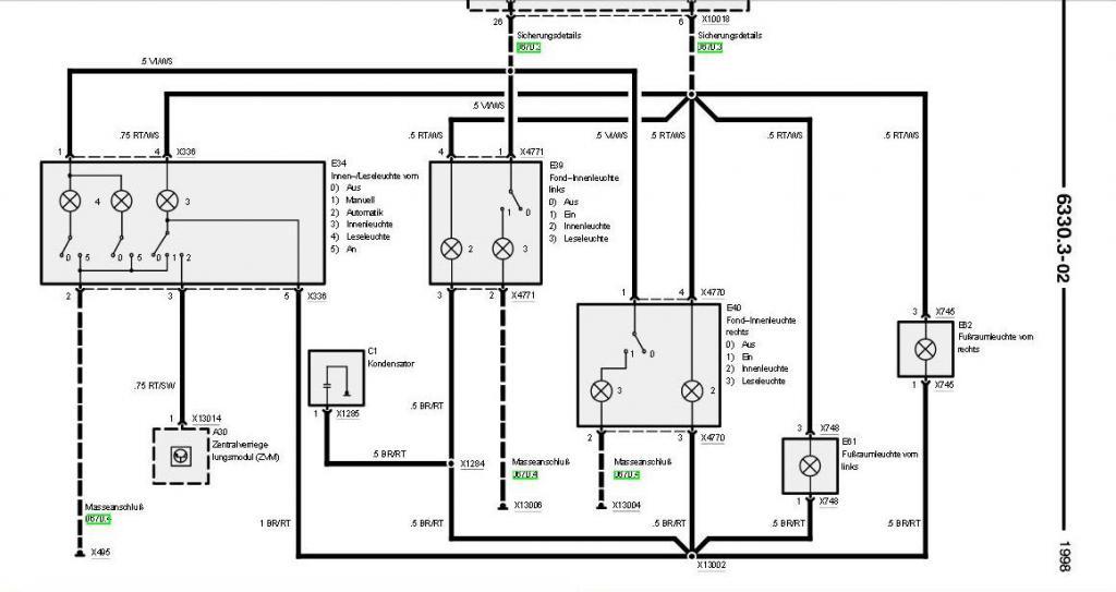 Bmw E36 Zke Schaltplan